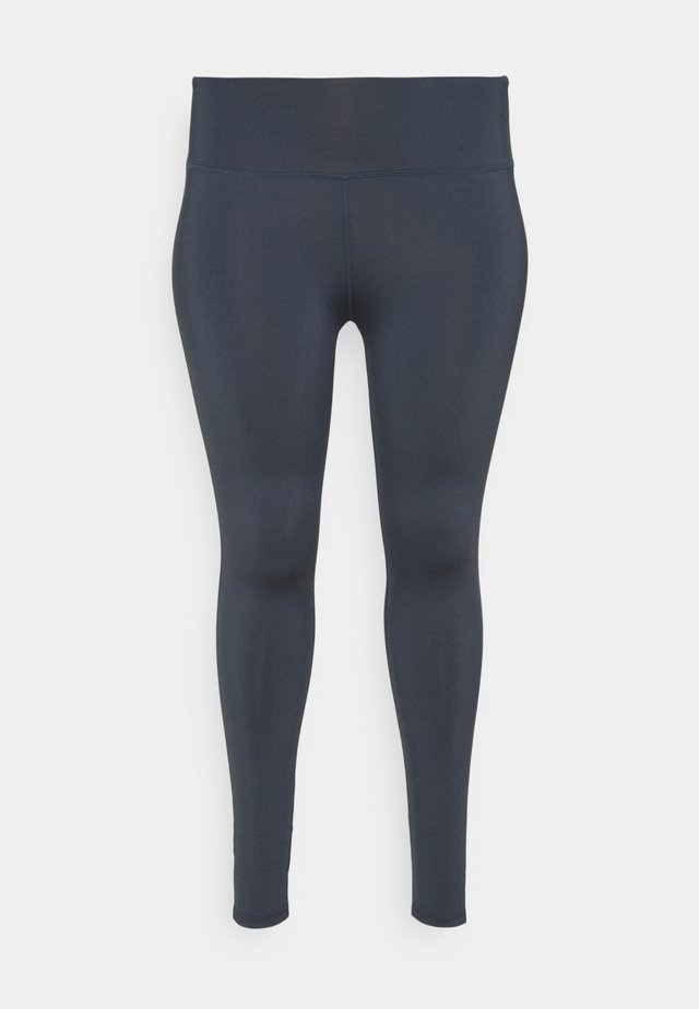 HIGHWAIST LEGGING CURVE - Medias - ombre blue