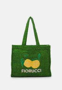 Fiorucci - LA PESCA TOWELLING TOTE BAG UNISEX - Shopper - green - 1