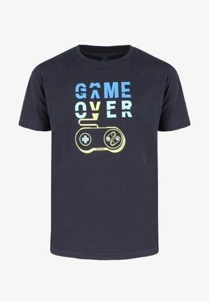 T-GAME JUNIOR - T-shirt print - navy