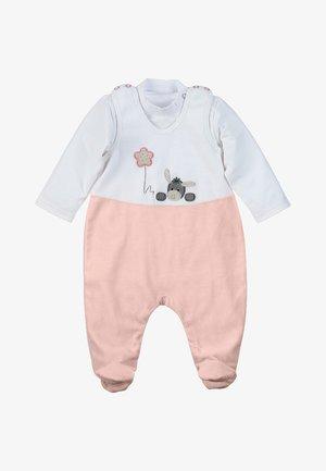Set Emmi - Baby gifts - weiss/orange