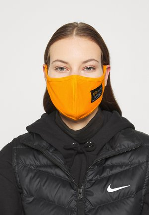 CREW FACE MASK UNISEX - Látková maska - flame orange