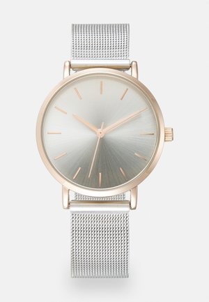 Hodinky - silver-coloured/rose gold-coloured