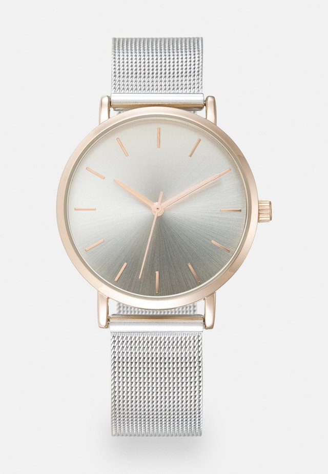 Orologio - silver-coloured/rose gold-coloured