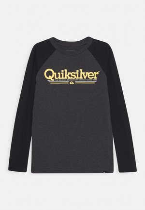 TROPICAL LINES YOUTH - Long sleeved top - charcoal heather