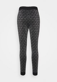 MICHAEL Michael Kors - Tracksuit bottoms - black/silver - 1