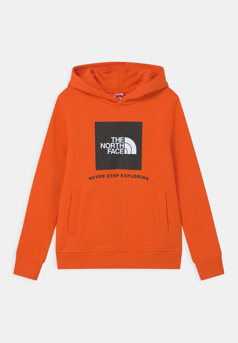 The North Face - BOX HOODIE UNISEX - Sweatshirt - red orange
