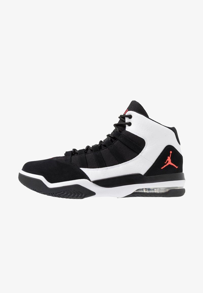 Jordan - MAX AURA - Sneakers high - white/infrared/black