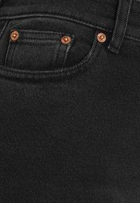MM6 Maison Margiela - Skinny džíny - black denim - 6