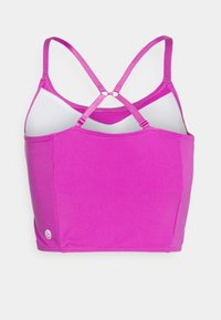 Cotton On Body - STRIKE A POSE YOGA VESTLETTE - Light support sports bra - magenta pop - 8