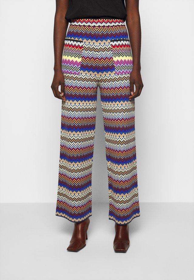 PANTALONE - Tygbyxor - multicoloured