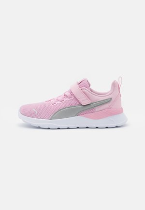 ANZARUN LITE UNISEX - Neutral running shoes - pink lady/silver