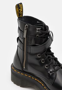 Dr. Martens - JADON HDW-8 EYE BOOT UNISEX - Lace-up ankle boots - black buttero - 5