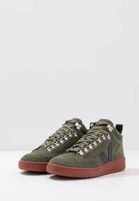 Veja - RORAIMA - Baskets montantes - olive/rust - 2
