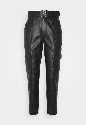 MIKA PANTS - Trousers - black