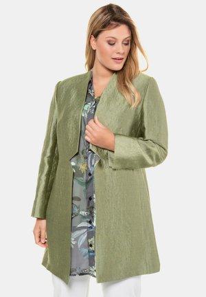 Short coat - jadegrün