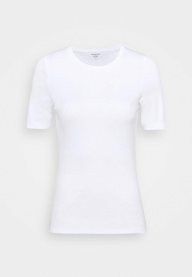 CREW TEE - Basic T-shirt - white