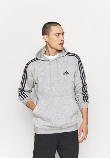 Hættetrøjer - medium grey heather/black