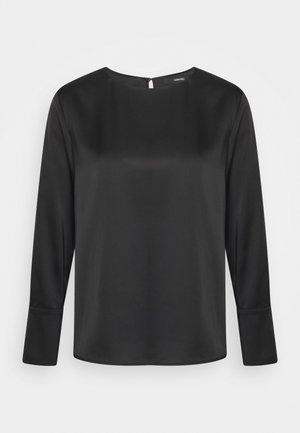 ZATIN - Maglietta a manica lunga - black