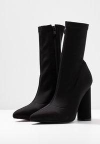 BEBO - ARANZA - High heeled ankle boots - black - 4