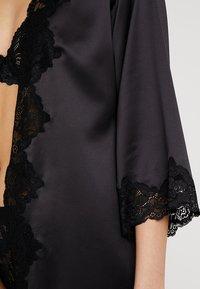 Lauren Ralph Lauren - KIMONO ROBE - Dressing gown - black - 4