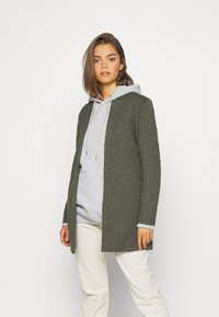 ONLY - ONLSOHO COATIGAN  - Kort kåpe / frakk - dark green - 0