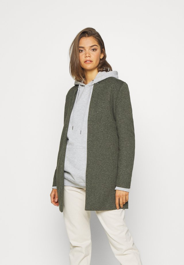 ONLSOHO COATIGAN  - Manteau court - dark green