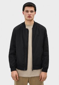 Bershka - Bomber Jacket - black - 0