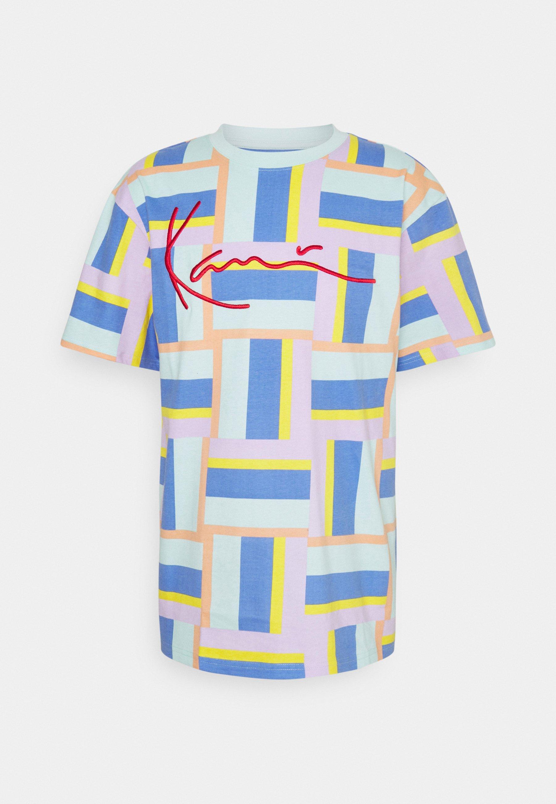 Uomo SIGNATURE BLOCK TEE UNISEX - T-shirt con stampa