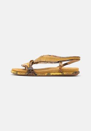 Sandals - mustard