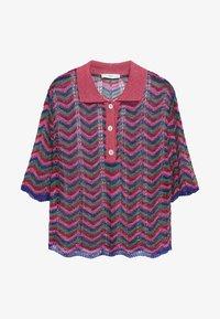 Mango - MIT LOCHMUSTER - Polo shirt - fuchsia - 5