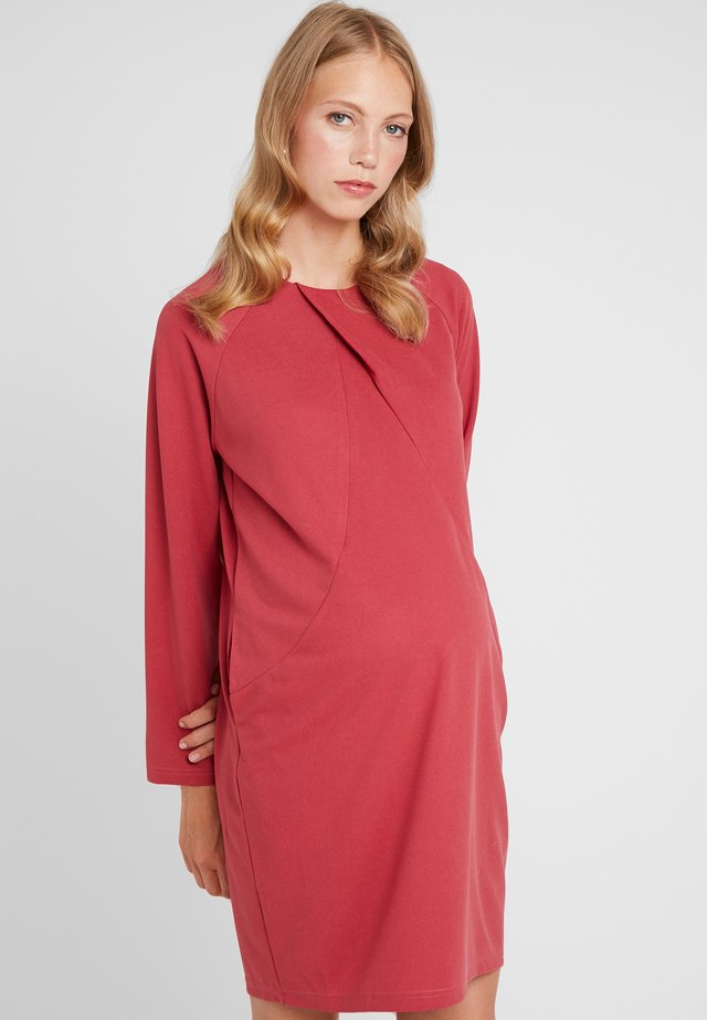CYTHEREA DRESS - Jerseykjole - red