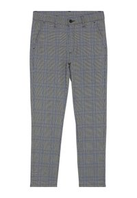 Grunt - DUDE CHECK - Suit trousers - blue - 0
