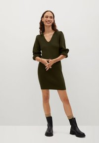 Mango - SAYN - Jumper dress - khaki - 1