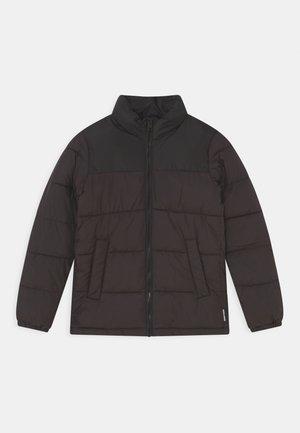 JJPAUL PUFFER COLLAR JR - Winter jacket - black