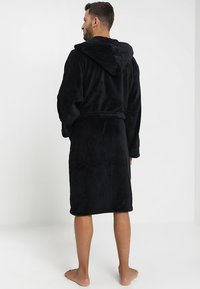 YOURTURN - Dressing gown - black - 2