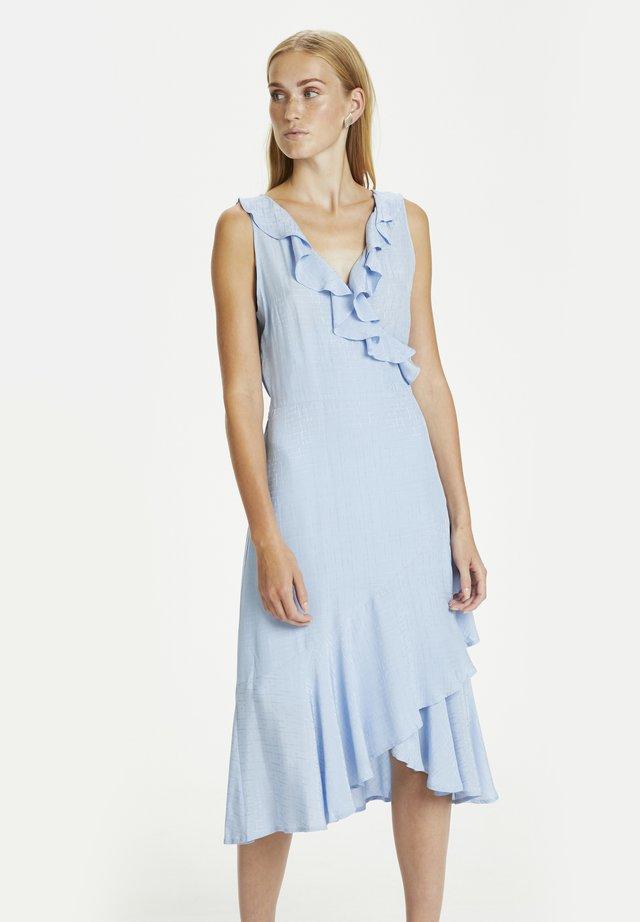 Korte jurk - placid blue