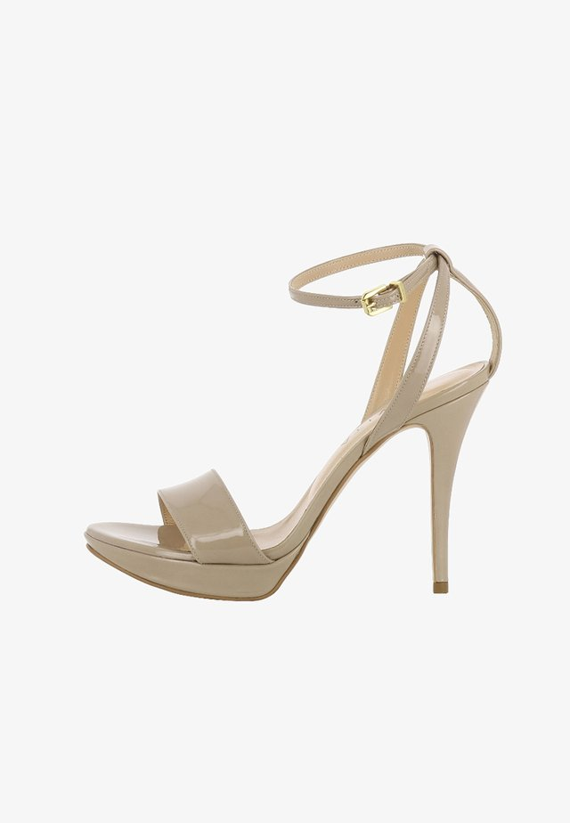 VALERIA - High heeled sandals - beige