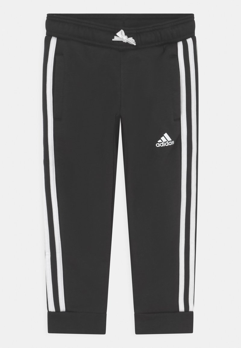 adidas Performance - UNISEX - Tracksuit bottoms - black/white