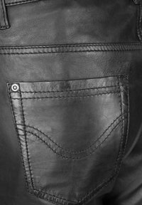 JCC - Leather trousers - black - 4
