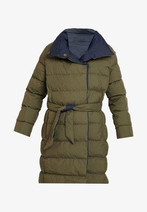 PADDED WRAP COAT - Zimní kabát - sea turtle