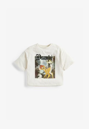LICENSE BAMBI  - Print T-shirt - off-white