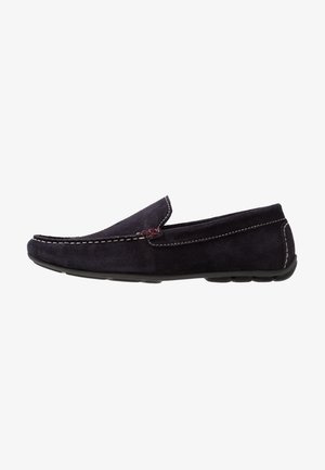 Moccasins - dark blue denim
