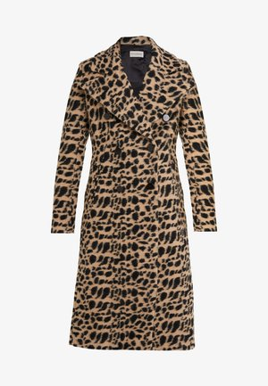 BELLOA - Classic coat - tiger eye