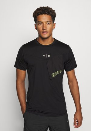 TRAIN FIRST MILE XTREME TEE - Sports shirt - black