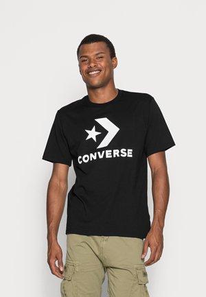 STAR CHEVRON TEE - T-shirt print - converse black