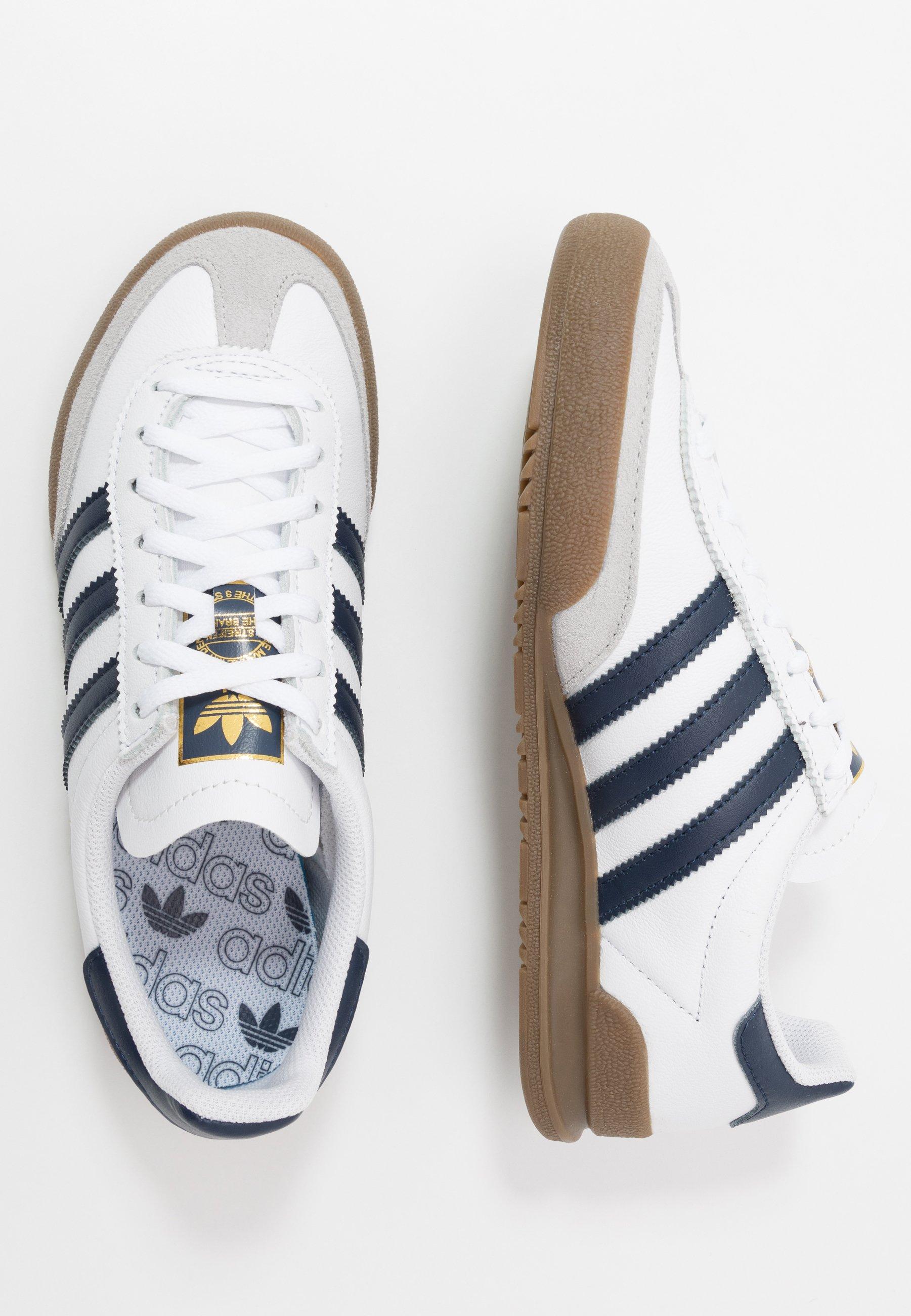 JEANS UNISEX - Baskets basses - footwear white/collegiate navy