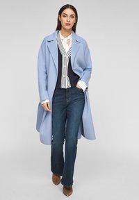 s.Oliver BLACK LABEL - Classic coat - light blue - 1