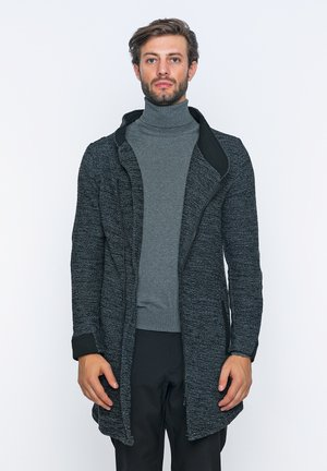 Krátký kabát - anthracite black