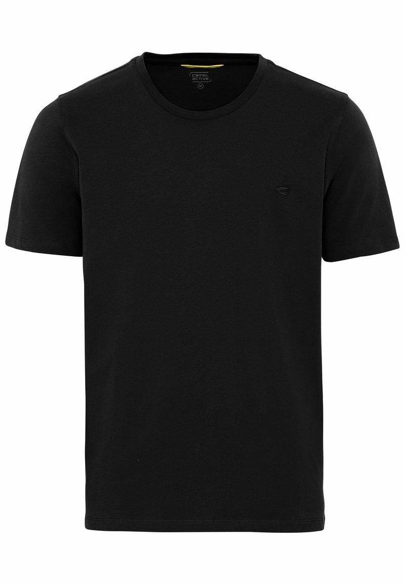 camel active - Basic T-shirt - black