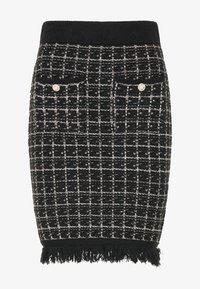 faina - Pouzdrová sukně - schwarz - 4